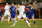 Michael Boxall (NZL), <br /> MARCH 5, 2014 - Football /Soccer : <br /> Kirin Challenge Cup 2014<br /> between Japan 4-2 New Zealand <br /> at National Stadium, Tokyo, Japan. <br /> (Photo by YUTAKA/AFLO SPORT)