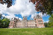 The Chateau de Charbonniere in the Foret de Charbonniere, near Orleans, in Centre, France. For more information please visit http://cheeseweb.eu/2015/09/cycling-loire-a-velo-reserve-naturelle-de-saint-mesmin-orleans-france/