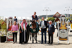 EPAILLARD Julien (FRA), Quatrin de La Roque LM<br /> Hagen - Horses and Dreams meets the Royal Kingdom of Jordan 2018<br /> Finale Mittlere Tour<br /> 29. April 2018<br /> www.sportfotos-lafrentz.de/Stefan Lafrentz