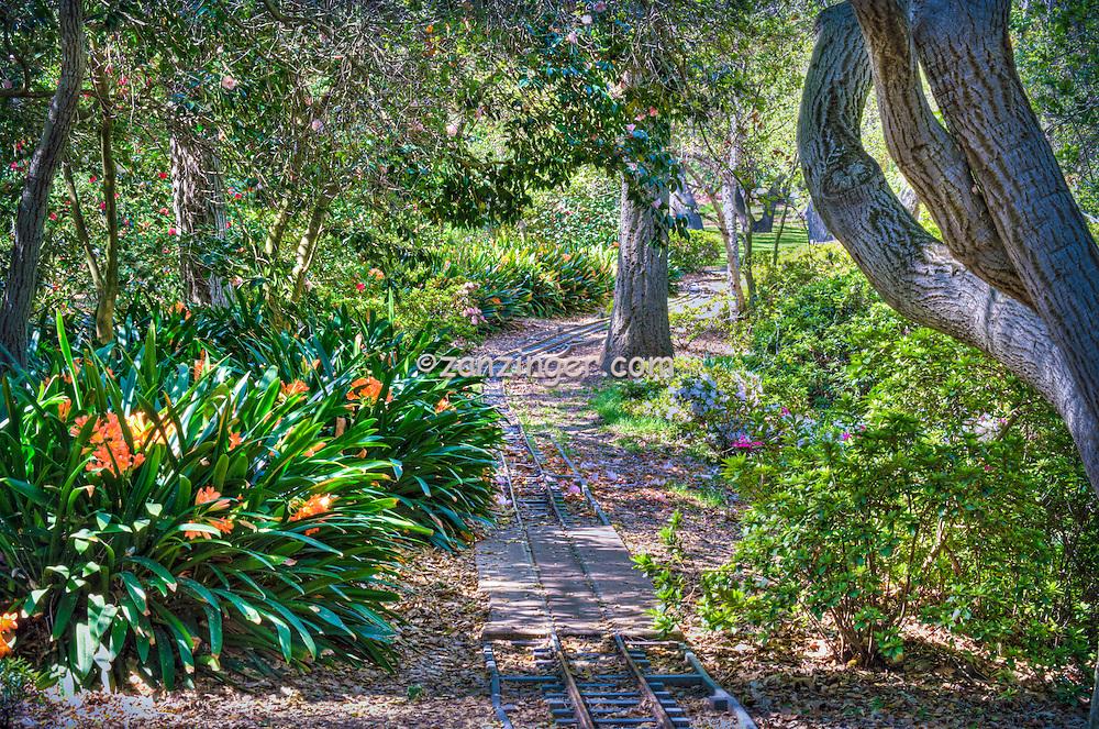 Descanso Gardens, Mulberry Pond, Bridge, La Canada, Flintridge,  Garden, flowers, mixed, flora, botanic, horticulture