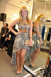 FRANCESCA HULL at a party to celebratethe opening of the Lacoste Flagship Store at 44 Brompton Road, Knightsbridge, London on 20th June 2012.