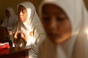 School girl in Banda Aceh. Februray 2006. Martine Perret