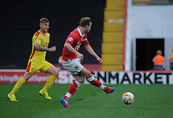 Bristol City's Wade Elliott scores the winning goal - Photo mandatory by-line: Dougie Allward/JMP - Mobile: 07966 386802 - 27/09/2014 - SPORT - Football - Bristol - Ashton Gate - Bristol City v MK Dons - Sky Bet League One