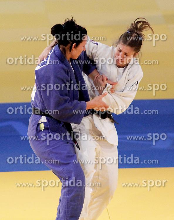 23.04.2010, Ferry Dusika Stadion, Wien, AUT, Judo European Championships, Cecilla Blanco (ESP) vs Mylene Chollet (FRA), during Judo European Championships 2010, EXPA Pictures 2010, Photographer EXPA/S.Trimmel / SPORTIDA PHOTO AGENCY