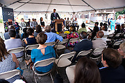 American Communities Trust & Baltimore Food Hub groundbreaking<br /> for the Baltimore Food Hub in East Baltimore.