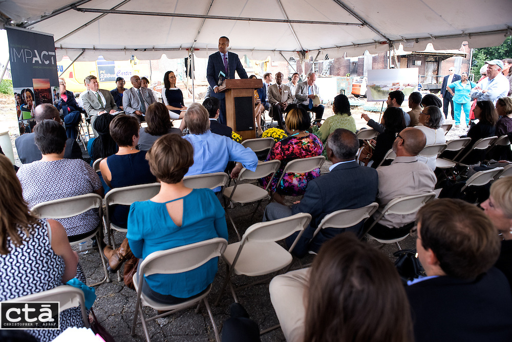 American Communities Trust &amp; Baltimore Food Hub groundbreaking<br /> for the Baltimore Food Hub in East Baltimore.