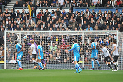 Wolves Keeper Emiliano Martinez makes a great save Derby County v Wolves, Ipro Stadium, Sky Bet Championship, Sunday 18th October 2015 (Score Derby 4, Wolves, 1)