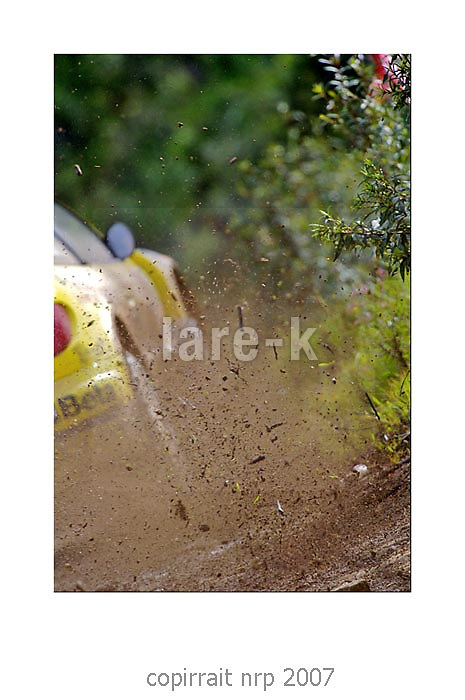 WRC PORTUGAL 2007 GIANI LUIGI GALI<br />