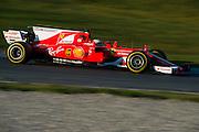 March 3, 2017: Circuit de Catalunya.  Kimi Raikkonen (FIN), Scuderia Ferrari, SF70H
