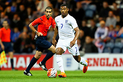 Jordon Ibe of England U21 in action - Mandatory byline: Matt McNulty/JMP - 07966386802 - 03/09/2015 - FOOTBALL - Deepdale Stadium -Preston,England - England U21 v USA U23 - U21 International