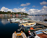 Summer view of Tobermory Harbour, Isle of Mull, Argyll