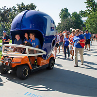 Convocation, March to the B, Bronco Welcome, Allison Corona photo