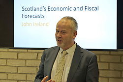 Pictured: John Ireland, Scottish Fiscal Commission Chief Executive<br /> <br /> The Scottish Fiscal Commission team, led by Dame Susan Rice, met journalists today and gave a short presentation on their five-year economic forecasts following the Scottish budget announcement.<br /> <br /> Ger Harley | EEm 13 December 2018