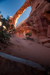 Double O Arch, Arches National Park, Utah, US