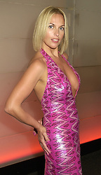 Model CHERYL GASCOIGNE former wife of footballer Paul Gascoigne, at a gala evening in London on 14th September 2000.OGX 54