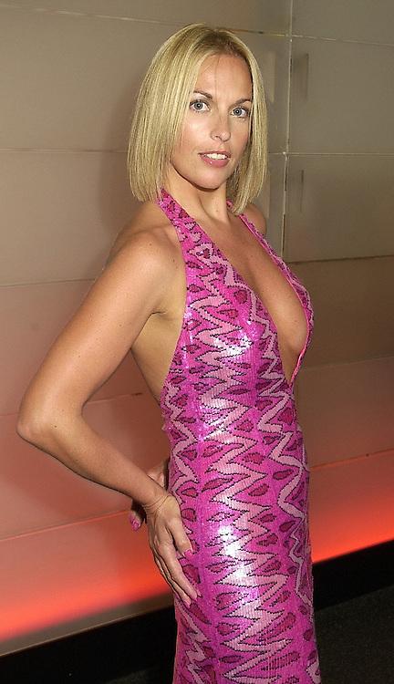 Model CHERYL GASCOIGNE former wife of footballer Paul Gascoigne, at a gala evening in London on 14th September 2000.OGX 54