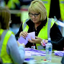 SCOTTISH PARLIAMENTARY ELECTION 2016 – Counting Agents at work at Royal Highland Centre, Edinburgh<br />(c) Brian Anderson | Edinburgh Elite media