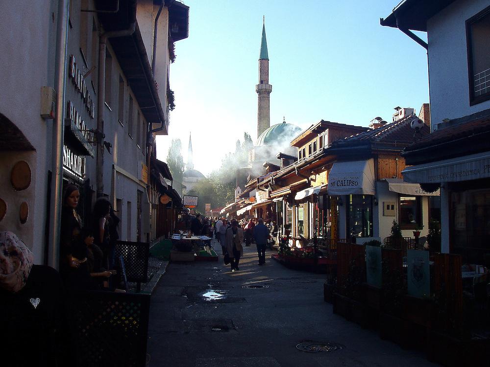 Sarajevo, in Bosnia 2005 -2007