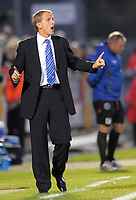 Football<br /> Bristol Rovers vs Aldershot Town, Carling Cup 1st Round, Memorial Stadium, Bristol, UK<br /> Paul Trollope manager of Bristol Rovers<br /> 11/08/2009<br /> Credit Colorsport/Dan Rowley