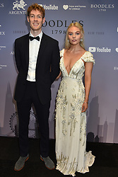 Nell Hudson and her brother Gabriel Hudson at the Boodles Boxing Ball, in association with Argentex and YouTube in Support of Hope and Homes for Children at Old Billingsgate London, United Kingdom - 7 Jun 2019 Photo Dominic O'Neil