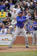 CHICAGO - MAY 17:  Rick Ankiel #16 of the New York Mets bats against the Chicago Cubs on May 17, 2013 at Wrigley Field in Chicago, Illinois.  The Mets defeated the Cubs 3-2.  (Photo by Ron Vesely/MLB Photos via Getty Images)  *** Local Caption *** Rick Ankiel