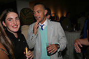 Dan Macmillan, Michael Roberts - book launch party hosted by Vanity Fair to celebrate  publication, Shot In Sicily. Hamiltons Gallery, 13 Carlos Place, London,17 September 2007. -DO NOT ARCHIVE-© Copyright Photograph by Dafydd Jones. 248 Clapham Rd. London SW9 0PZ. Tel 0207 820 0771. www.dafjones.com.