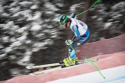 21.02.2013, Kandahar, Garmisch Partenkirchen, AUT, FIS Weltcup Ski Alpin, Abfahrt, Herren, 1. Training, im Bild Steven Nyman (USA) // Steven Nyman of the USA in action during 1st practice of the  mens Downhill of the FIS Ski Alpine World Cup at the Kandahar course, Garmisch Partenkirchen, Germany on 2013/02/21. EXPA Pictures © 2013, PhotoCredit: EXPA/ Johann Groder
