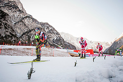Sebastian Eisenlauer (GER) during the Man team sprint race at FIS Cross Country World Cup Planica 2016, on January 17, 2016 at Planica, Slovenia. Photo By Urban Urbanc / Sportida