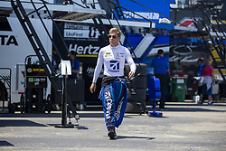 July 13, 2018 - Sparta, Kentucky, United States of America - Jamie McMurray (1) gets ready to practice for the Quaker State 400 at Kentucky Speedway in Sparta, Kentucky. (Credit Image: © Stephen A. Arce/ASP via ZUMA Wire)