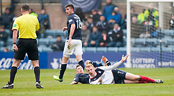 Falkirk's Mark Beck.<br /> Dundee 0 v 1 Falkirk, Scottish Championship game played today at Dundee's Dens Park.<br /> &copy; Michael Schofield.