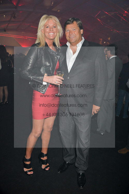 GARY & SHARON PASK at the UK launch of the Ferrari California T held at Somerset House, the Strand, London on 24th April 2014.