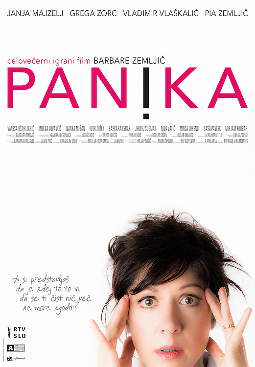 Poster for feature film Panic - Panika directed by Barbara Zemljič. Photography for poster by Željko Stevanić/IFP