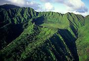 Ka'au Crater, Oahu, Hawaii<br />