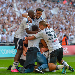 26,05,2018 Championship Play-off Final match between Aston Villa and Fulham