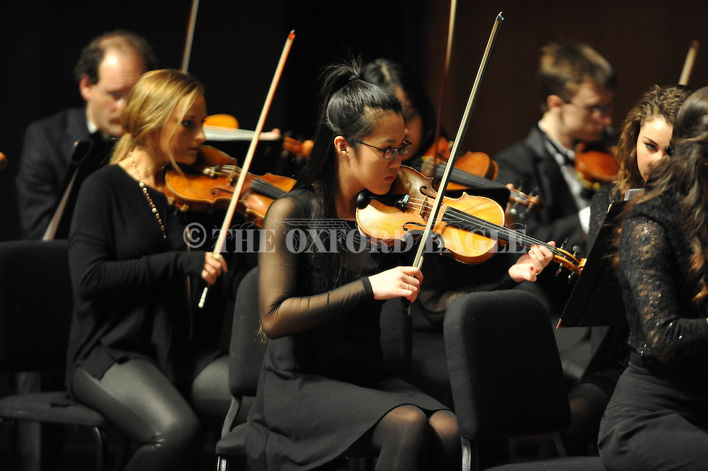 LOU Symphony plays at the Ford Center in Oxford, Miss. on Monday, February 9, 2015.