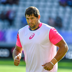 Willem Alberts of Paris during Top 14 match between Stade Francais and Union Bordeaux Begles on September 1, 2018 in Paris, France. (Photo by Aude Alcover/Icon Sport)