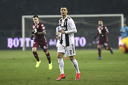 December 15, 2018 - Turin, Piedmont, Italy - Cristiano Ronaldo (Juventus FC) during the Serie A football match between Torino FC and Juventus FC at Olympic Grande Torino Stadium on December 15, 2018 in Turin, Italy. Torino lost 0-1 against Juventus. (Credit Image: © Massimiliano Ferraro/NurPhoto via ZUMA Press)
