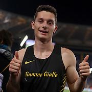 Roma 08/06/2017 Stadio Olimpico<br /> Diamond League : Golden Gala<br /> Filippo Tortu 200 metri