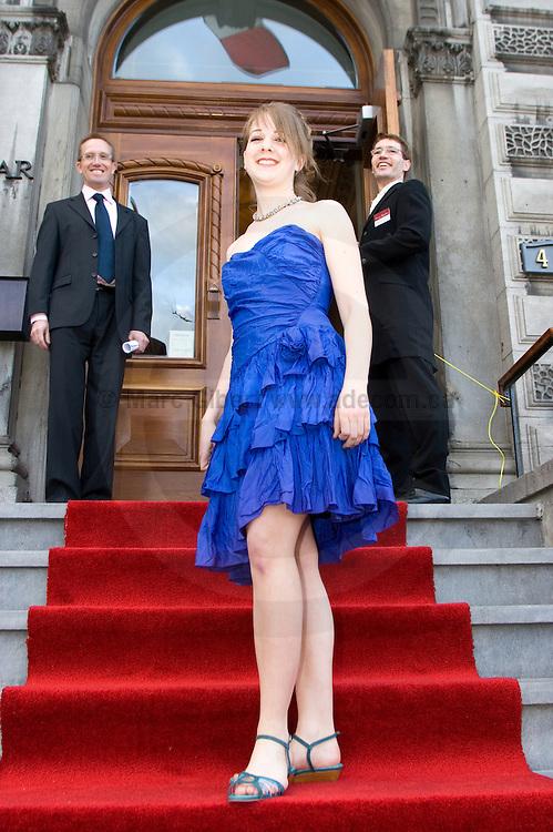 Maja Harders à la soirée Gala des 120 ans de l'Union Française., 429 avenue Viger Est, Québec, Canada, 2008, 05, 08, © Photo Marc Gibert / adecom.ca