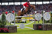Rene Tebbel - Cooper 75<br /> World Equestrian Festival, CHIO Aachen 2012<br /> © DigiShots