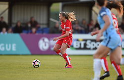 Claire Emslie of Bristol City Women in action during the FA WSL 1 match between Bristol City Women and Manchester City Women at Stoke Gifford Stadium - Mandatory by-line: Paul Knight/JMP - 09/05/2017 - FOOTBALL - Stoke Gifford Stadium - Bristol, England - Bristol City Women v Manchester City Women - FA Women's Super League Spring Series