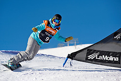 MENTEL-SPEE Bibian, Banked Slalom, 2015 IPC Snowboarding World Championships, La Molina, Spain