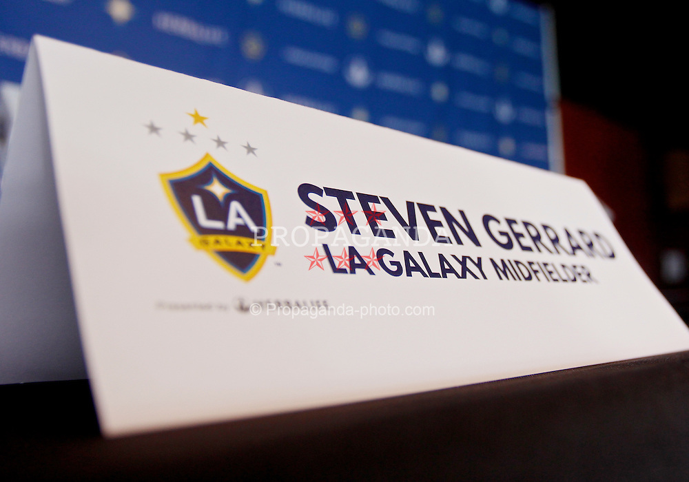Football - Major League Soccer - LA Galaxy Training & Press ...