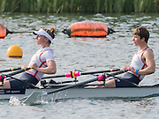 Caversham, Nr Reading, Berkshire.<br /> <br /> GBR LW2X. Bow Challotte TAYLOR and Kat COPELAND, Olympic Rowing Team Announcement morning training before the Press conference at the RRM. Henley.<br /> <br /> Thursday  09.06.2016<br /> <br /> [Mandatory Credit: Peter SPURRIER/Intersport Images]