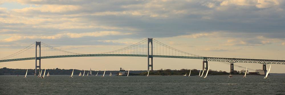 Weekly racing on Narragansett Bay