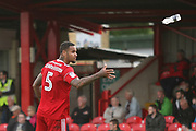 Ben Richards-Everton of Accrington Stanley during the EFL Sky Bet League 2 match between Accrington Stanley and Mansfield Town at the Fraser Eagle Stadium, Accrington, England on 19 August 2017. Photo by John Potts.