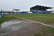 Barrow's Pitch before  the Vanarama National League match between Barrow and Forest Green Rovers at Holker Street, Barrow, United Kingdom on 28 January 2017. Photo by Mark Pollitt.