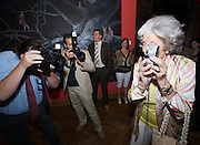 "Presentation of Salon 2008 magazine at Rudolf Budja Galerie. Countess Marianne of Sayn-Wittgenstein-Sayn (""Manni"") and other Paparazzi."