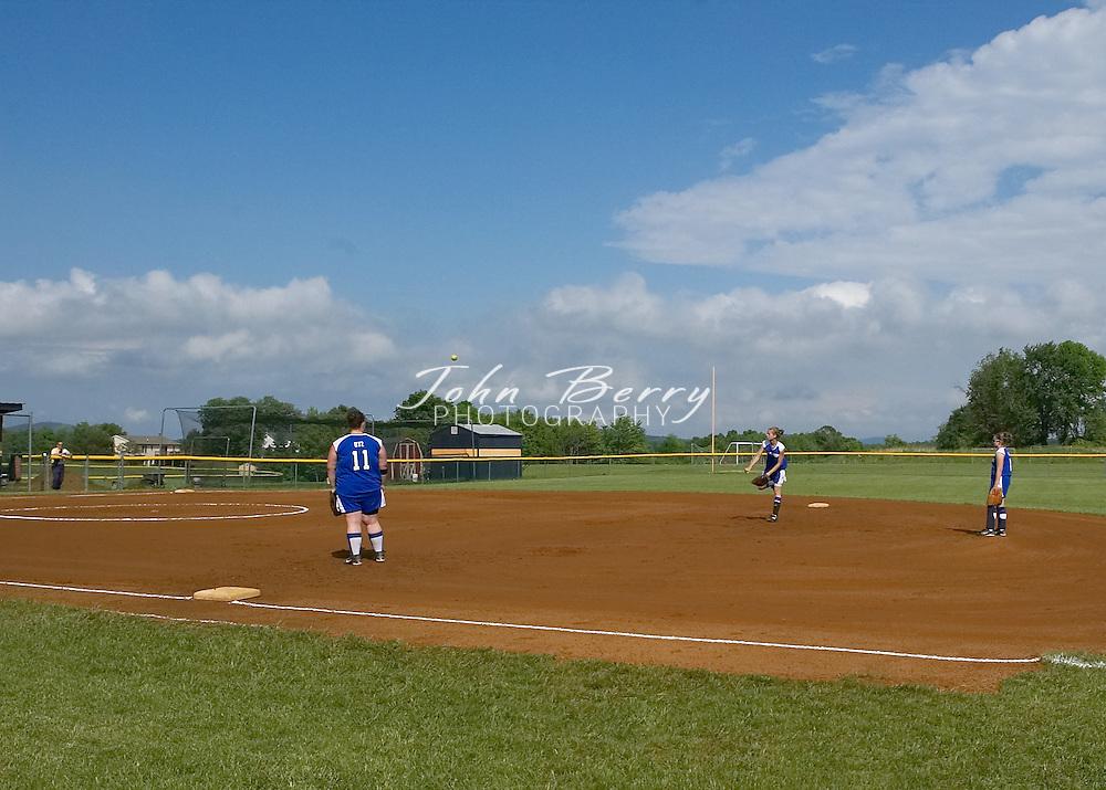 MCHS JV Softball vs Rappahannock, District Championship at Rappahannock, Monday, May 23, 2005.