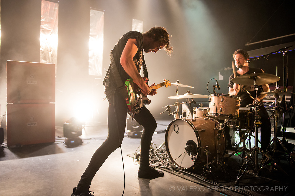 Vancouver band, Japandroids, formed by guitarist Brian King and drummer David Prowse, play their biggest London gig to date at the Shepherds Bush Empire closing their 2017 tour in support of the new album: Near to the Wild Heart of Life